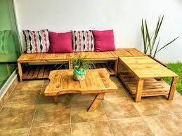 furniture out of wooden pallets. DIY Wooden Pallets Setting Banch-102 (2) Furniture Out Of
