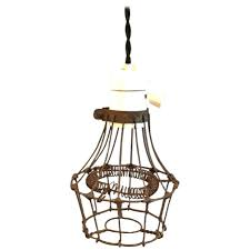 diamond cage pendant light uk industrial porcelain and steel wire for at master