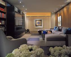 finest family room recessed lighting ideas. Finest Small Recessed Lighting For Impressive Basement Family Room Ideas With Grey Sectional Sofa Best Flooring L