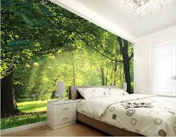 3d wall designs bedroom. Brilliant Bedroom Custom 3d Wallpaper Idyllic Natural Scenery And Flowers Living Room Bedroom  Background 3D Stereo Wall Mural WallpapersChina Mainland For Wall Designs Bedroom O