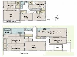 Japanese House Layout Plan House Style Pinterest House . Traditional ...
