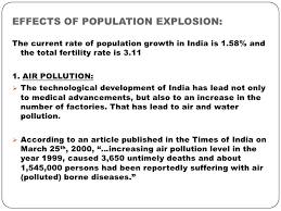 human population explosion 12 effects of population