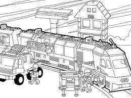 Lego City Colouring Pages To Print City Volcano City Coloring
