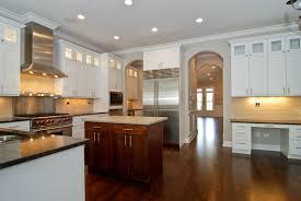 upper cabinet lighting. Love The Built In Desk, Arched Doorways, And Upper Cabinet Lighting