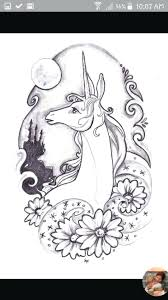 The Last Unicorn Coloring Pages Last Unicorn Coloring Page Adult