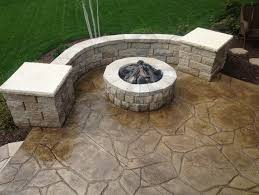backyard concrete designs. Plain Designs Stamped Concrete Patio Design For Backyard Concrete Designs S