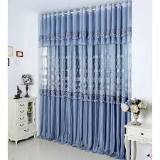 Lace Window Treatments Luxury Purplish Grey Lace Curtains Embroidery For Space