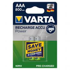 <b>Аккумулятор Varta ААА</b> 800 мАч, 4 шт. - купите по низкой цене в ...