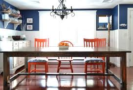 modern farmhouse table. This Is An Extremely Basic Design For A Farmhouse Table. It Would Be Very Easy Almost Anyone To Build. Modern Table