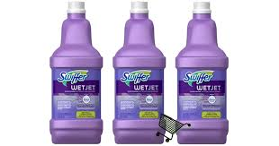 wetjet multi surface cleaner solution refill swiffer unadvertised