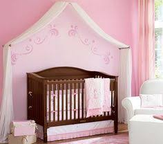 DIY nursery canopy - goes from Crib to