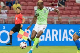 Image result for Ighalo hails Oshimhen's performance for Super Eagles