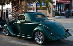 Emerald Green Metallic - 1935 Ford 3-window coupe - modified by ...