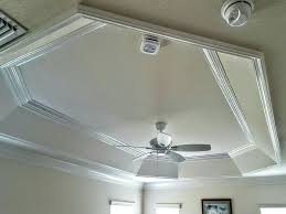 The Villages FL tray ceiling crown molding