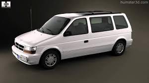 Dodge Caravan 1990 by 3D model store Humster3D.com - YouTube