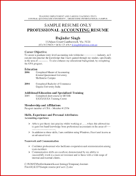 Resume For Accounting Job Free Download Unique Accounting Job Resume
