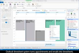 Outlook 2016 Time Tracking Appointments Timesheets