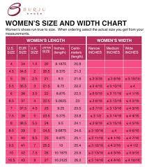 Women S Shoe Width Chart Foot Width Chart Women Google Search Shoe Size Chart