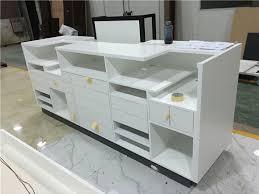 front desk furniture design. Custom White Reception Desk Design Front Furniture Cash Counter Table For Sale A