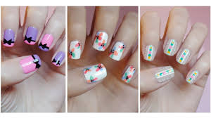 Quick And Easy Nail Art Designs | Easy Nail Art