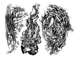 тату на прозрачном фоне черно белые татуировки Tattoo