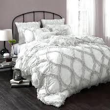 Grey And White Patterned Comforter Striped Bedspread Comforters. Gray And  White Chevron Comforters Walls Bedding ...
