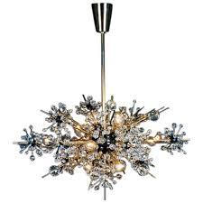lobmeyr metropolitan opera crystal chandelier foyer l16 mid century modern