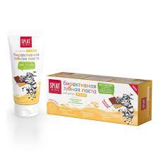 Детская <b>зубная паста SPLAT Kids</b> 2-6 лет Молочный шоколад, 50 ...