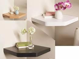 Oak Floating Corner Shelves Floating Corner Shelves White Black Wood Oak Effect 61