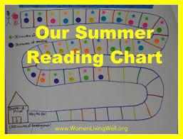 Our Summer Reading Chart Women Living Well
