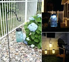 diy solar lights use mason jars and ground hooks to make these great lamp diy solar lights