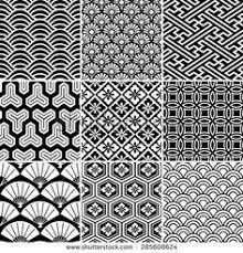 Japanese Wave Pattern Adorable Image Result For Japanese Wave Pattern Black And White Continuous