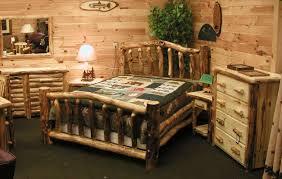 Natural Wood Bedroom Furniture Bedroom Alluring Rustic Bedroom Inspiration With Natural Wood