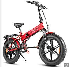 <b>ENGWE EP</b>-<b>2</b> electric bike with <b>500W</b> motor and <b>folding</b> wheels is ...
