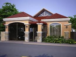 Bungalow Home Design In The Philippines Home Design Modern One Storey House Bedroom Philippines