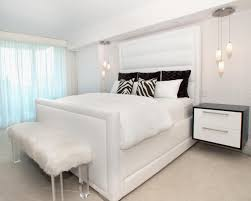 bedrooms with white furniture. All White Bedroom Furniture Raya Faux Fur Desk Chair With Arms Bedrooms