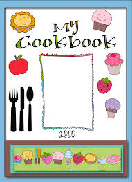 recipe book cover template downloads recipe book cover clipart image 14