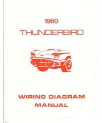 amazon com 1960 ford thunderbird wiring diagrams schematics car 1960 ford thunderbird wiring diagrams schematics