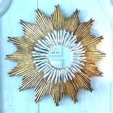 gold sunburst mirror. Gold Sunburst Mirror Large Wall Starburst
