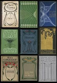 art nouveau book cover designs