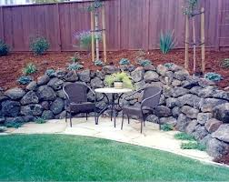 rock wall landscaping gallery landscape materials inc rock wall landscaping cost