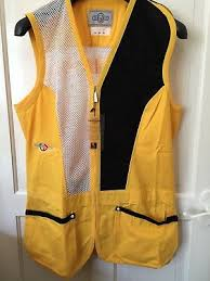 Castellani Shooting Vest Size Chart Castellani Skeet Vest Yellow Left Handed Clay Shooting Lots