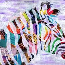 Image Kids Zebra Print Girls Room Decor Valentine Gift Ideas Bohemian Wanelo Best Collage Art Ideas Products On Wanelo