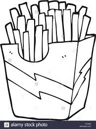 french fries clipart black and white. Unique Clipart Throughout French Fries Clipart Black And White N