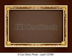 Gold frameframeframe borderphoto frameframe vector vector
