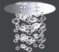 chandeliers glass bubble chandelier best ideas of due suspension light pendant within view canada