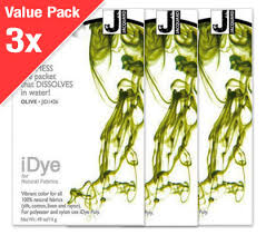Idye Poly Color Mixing Chart Idye Olive Green 3x Value Pack