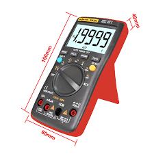 <b>RM303 True RMS 19999 Counts</b> Digital Multimeter NCV Frequency ...