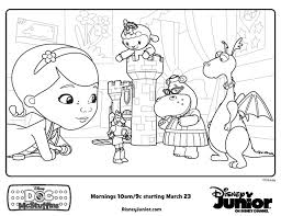 Small Picture Doctor McStuffins Coloring Pages Doc McStuffins playroom Free