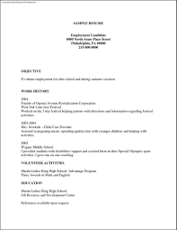 Simple Resume Template Free Templates Download For Microsoft Word
